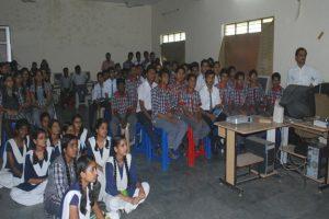 Film Presentation in Central School Chhatarpur made by Prasar Bharti