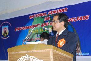 National Seminar Announcing DR Ashwani Kumar Dubey