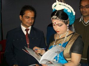ashwani kumar dubey dande festival