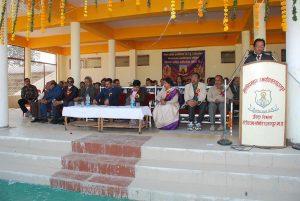 ashwani kumar dubey maharaja college