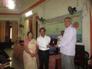 ashwani kumar dubey national seminar award